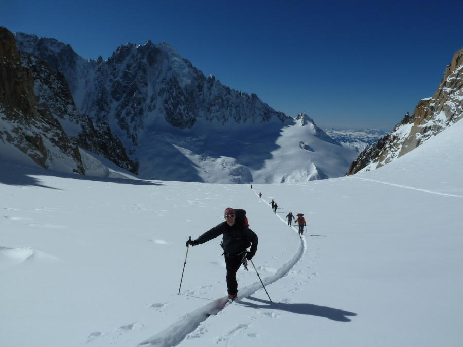 Ski Chamonix to Zermatt British Mountain Guide